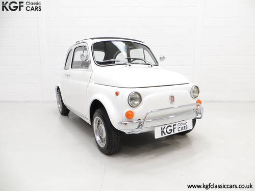 1970 A Classic Adorable and Funky Fiat 500L in Superb Condition SOLD (picture 1 of 6)