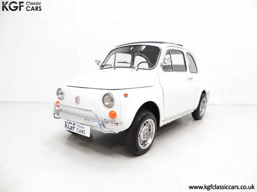 1970 A Classic Adorable and Funky Fiat 500L in Superb Condition SOLD (picture 2 of 6)