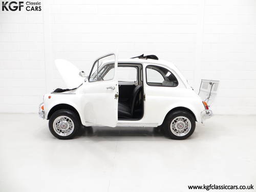 1970 A Classic Adorable and Funky Fiat 500L in Superb Condition SOLD (picture 3 of 6)