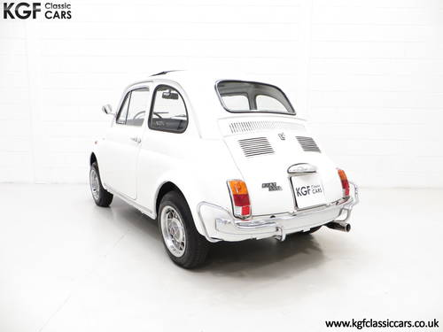 1970 A Classic Adorable and Funky Fiat 500L in Superb Condition SOLD (picture 4 of 6)