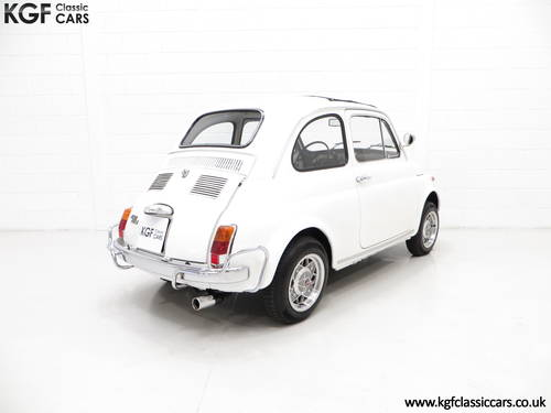 1970 A Classic Adorable and Funky Fiat 500L in Superb Condition SOLD (picture 5 of 6)