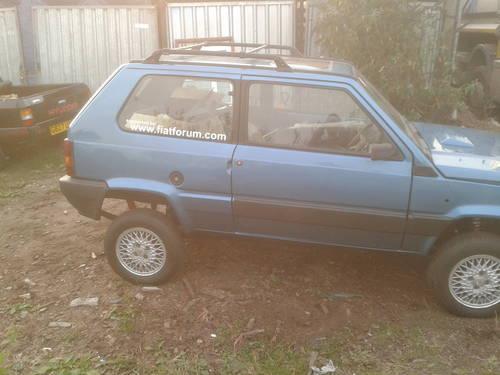 1989 Fiat Panda Limited Edition 4x4 Sisley For Sale Car