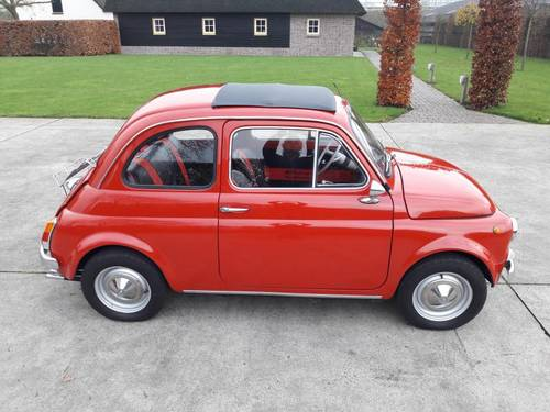 1971 FIAT 500 F MODEL STUNNING CONDITION. ITALIE IMPORT SOLD (picture 1 of 6)
