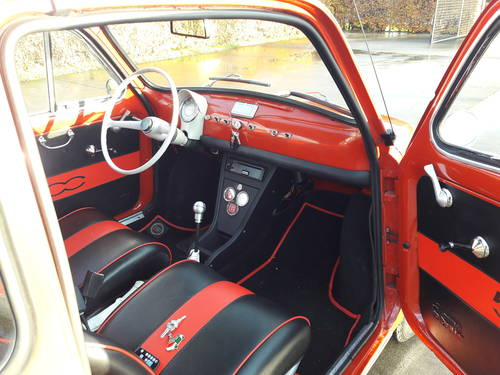 1971 FIAT 500 F MODEL STUNNING CONDITION. ITALIE IMPORT SOLD (picture 2 of 6)