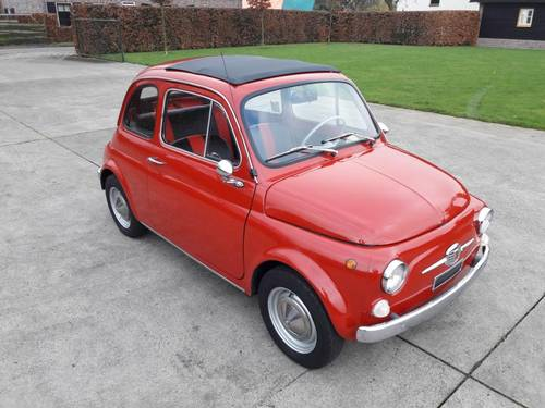 1971 FIAT 500 F MODEL STUNNING CONDITION. ITALIE IMPORT SOLD (picture 5 of 6)