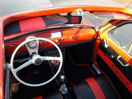1971 FIAT 500 F MODEL STUNNING CONDITION. ITALIE IMPORT SOLD (picture 6 of 6)