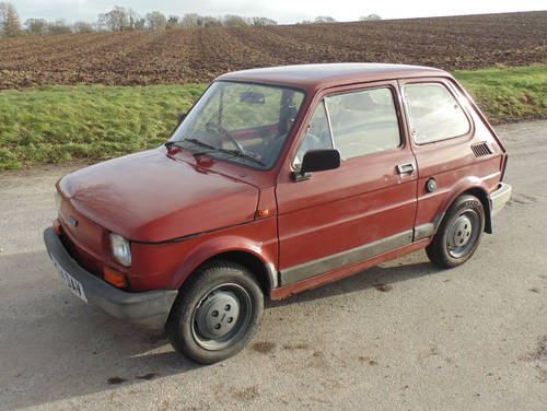 1987 Fiat 126 SOLD (picture 1 of 6)