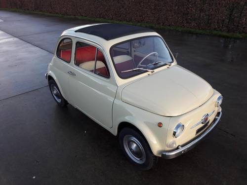 FIAT 500 F COLOR CREME 1971 LOVELY LITTLE CAR SOLD (picture 2 of 6)