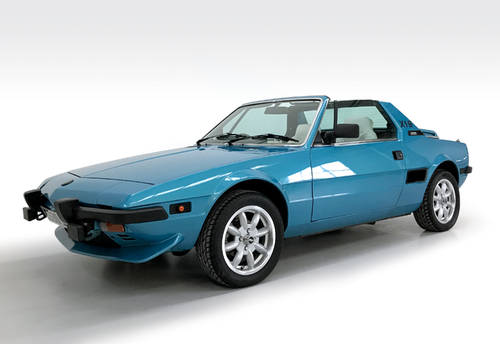 1985 Fiat X1/9 VS SOLD (picture 1 of 6)