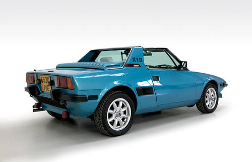 1985 Fiat X1/9 VS SOLD (picture 2 of 6)