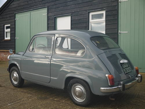 1966 FIAT 600 SALOON LHD EXCELLENT AND VERY ORIGINAL !!  SOLD (picture 2 of 6)