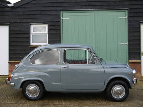 1966 FIAT 600 SALOON LHD EXCELLENT AND VERY ORIGINAL !!  SOLD (picture 3 of 6)