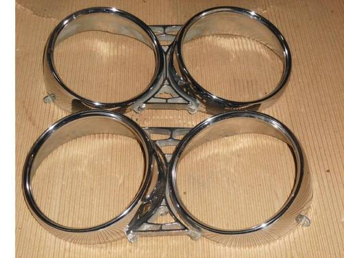 FIAT DINO 2000 Coupe Headlamp Rings For Sale (picture 1 of 3)