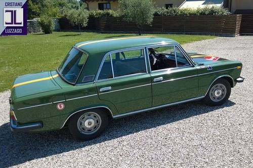 TIME CAPSULE 1971 FIAT 125 B SALOON 65.000 GENUINE KMS For Sale (picture 3 of 6)
