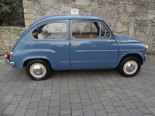 1963 FIAT 600 SALOON (RHD UK low mileage) SOLD (picture 3 of 6)