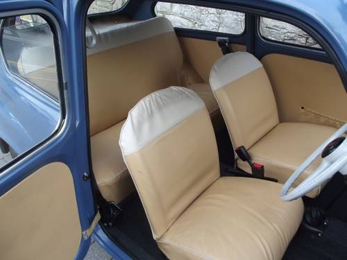 1963 FIAT 600 SALOON (RHD UK low mileage) SOLD (picture 4 of 6)
