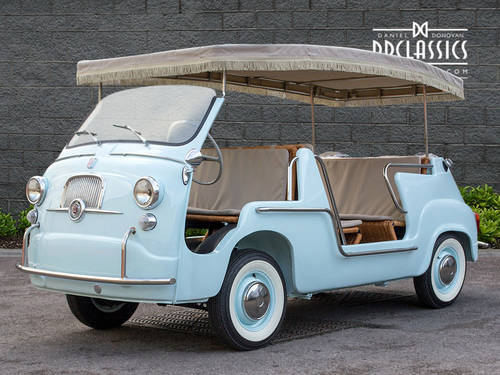 1966 Fiat 600 D Multipla 'Jolly' (LHD) SOLD (picture 1 of 6)