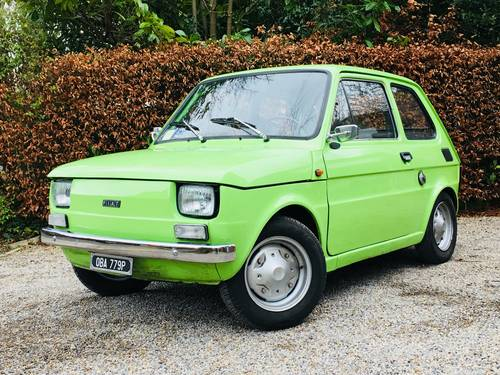 1976 FIAT 126 - HUGE RECENT EXPENDITURE SOLD (picture 1 of 6)