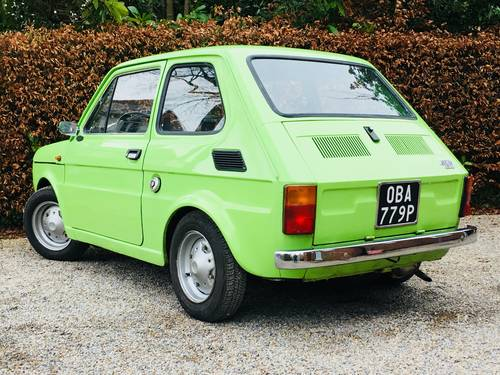 1976 FIAT 126 - HUGE RECENT EXPENDITURE SOLD (picture 2 of 6)