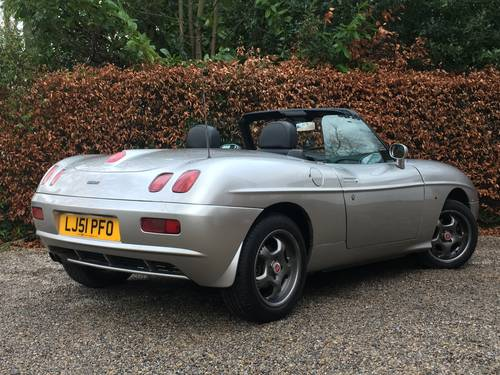 2001 fiat barchetta - super value - 12 months mot SOLD (picture 2 of 6)