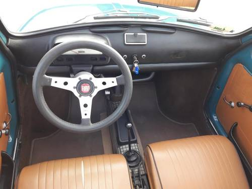 FIAT 500 L MID BLEU 1971 so very nice. just 7500 euro SOLD (picture 5 of 6)