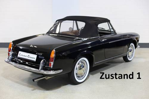 1965 Fiat 1500 Conv' 118K 5sp full restoration best available.  SOLD (picture 1 of 6)