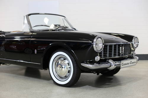 1965 Fiat 1500 Conv' 118K 5sp full restoration best available.  SOLD (picture 5 of 6)