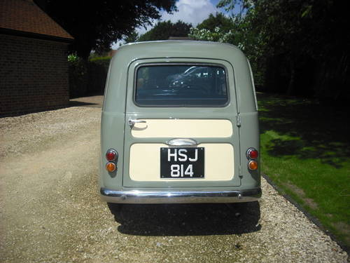 1955 Fiat 500 Belvedere - one of just 60 RHD - Reserved SOLD (picture 2 of 6)