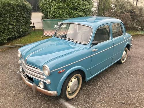 1956 Fiat - 1100/103E FIRST ITALIAN REGISTRATION For Sale (picture 1 of 6)
