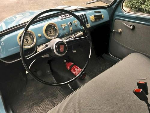 1956 Fiat - 1100/103E FIRST ITALIAN REGISTRATION For Sale (picture 4 of 6)