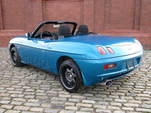 1997 FIAT BARCHETTA CONVERTIBLE FRESH IMPORT TOP GRADE CAR SOLD (picture 3 of 6)