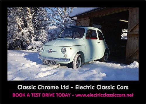 ELECTRIC CLASSIC FIAT 500 CONVERSIONS For Sale (picture 1 of 6)