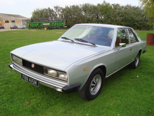 1973 Fiat 130 Pininfarina Manual Coupe For Sale (picture 2 of 6)