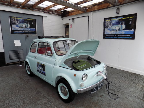 ELECTRIC CLASSIC FIAT 500 CONVERSIONS For Sale (picture 2 of 6)