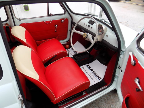 ELECTRIC CLASSIC FIAT 500 CONVERSIONS For Sale (picture 3 of 6)