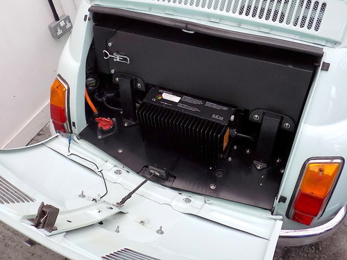 ELECTRIC CLASSIC FIAT 500 CONVERSIONS For Sale (picture 4 of 6)
