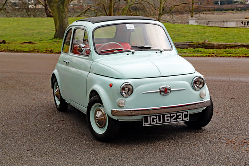 ELECTRIC CLASSIC FIAT 500 CONVERSIONS For Sale (picture 6 of 6)