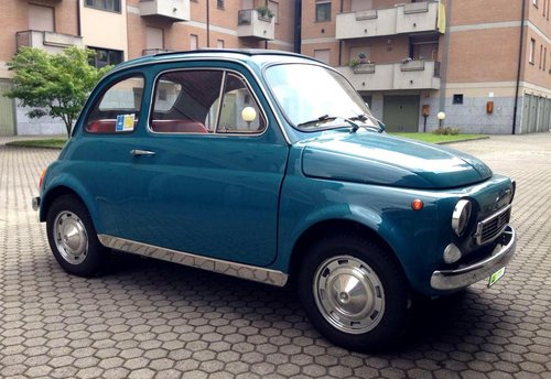 Fiat 500 Francis Lombardi My Car 1968 Sold Car And Classic