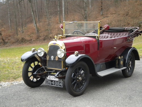 1923 rare Fiat 501 with british body For Sale (picture 1 of 6)