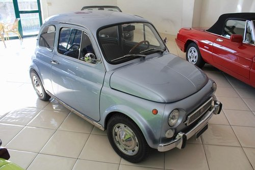 1971 Fiat 500 My Car Francis Lombardi With Roof Close For Sale Car