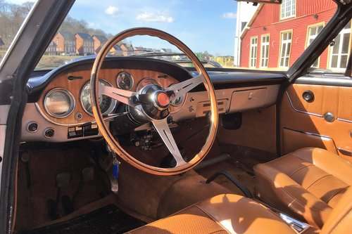1967 Fiat 2300S Coupe - very original For Sale (picture 5 of 6)
