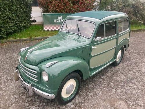 1954 500 C TOPOLINO BELVEDERE FULLY RESTORED SOLD (picture 1 of 6)