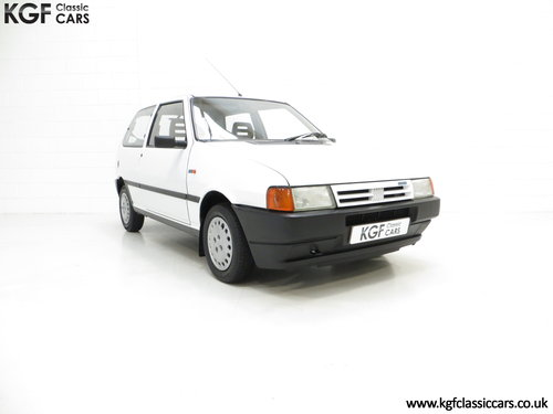 1992 A Rare Special Edition Fiat Uno 45 Spark SOLD (picture 1 of 6)
