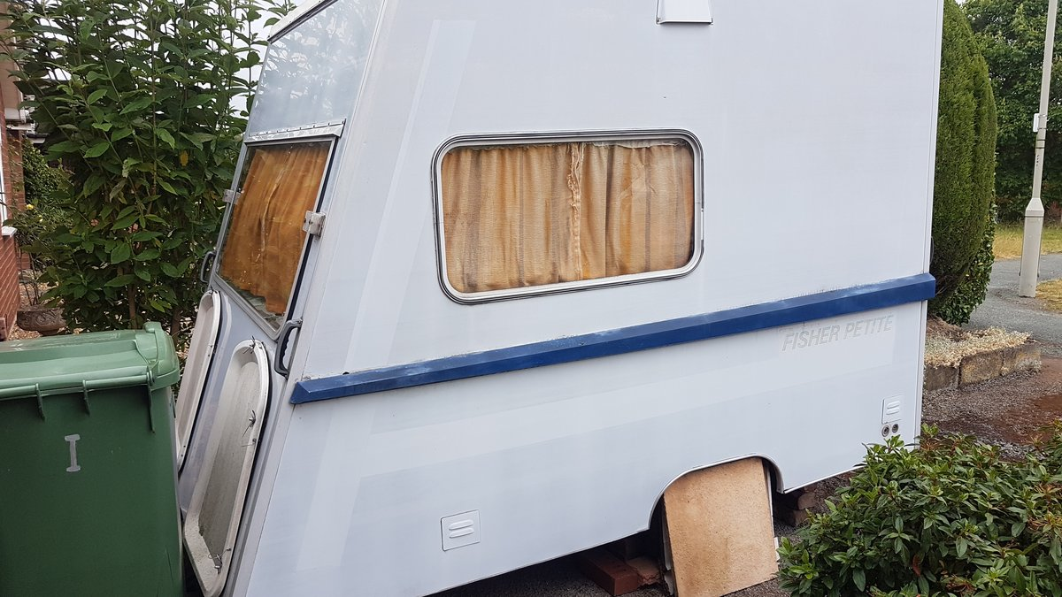 1977 Fisher petite caravan For Sale (picture 1 of 1)