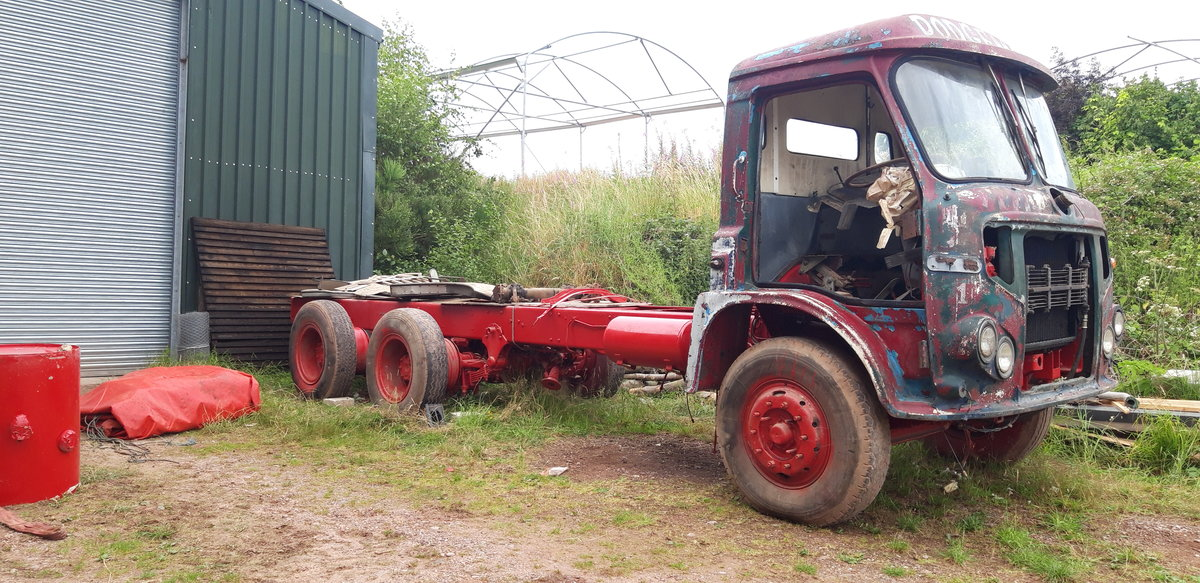 1971 Foden S39 Renovation Project For Sale (picture 1 of 4)