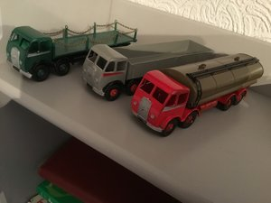 3 superb dinky foden from private collection
