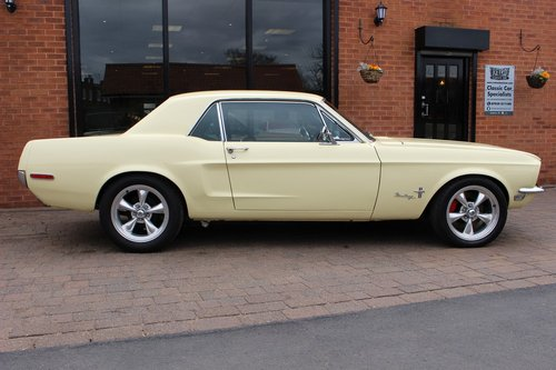 1968 Ford Mustang 302 V8 Coupe T5 Manual SOLD (picture 2 of 6)