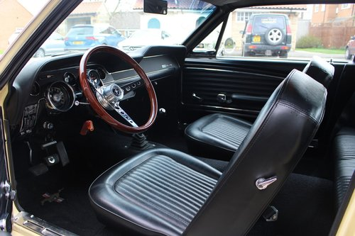 1968 Ford Mustang 302 V8 Coupe T5 Manual SOLD (picture 5 of 6)