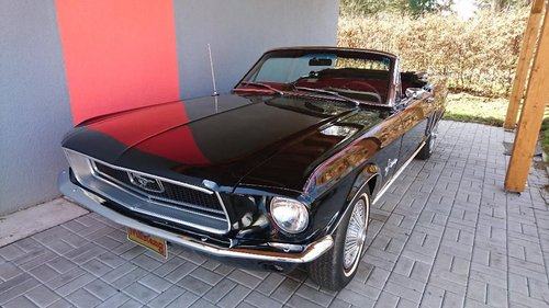 Ford Mustang 1968 5,0 V8 Convertible For Sale (picture 4 of 6)