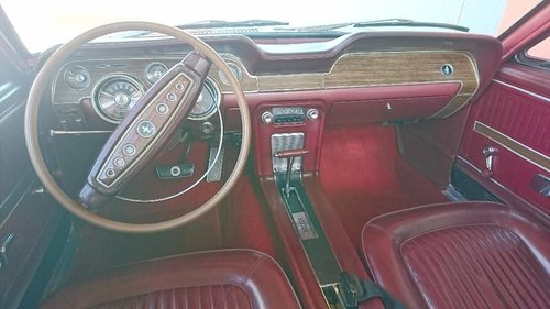 Ford Mustang 1968 5,0 V8 Convertible For Sale (picture 6 of 6)